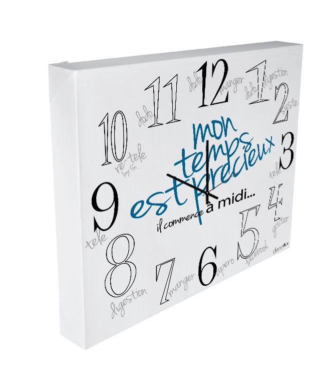 horloge réveil have a nice day-0
