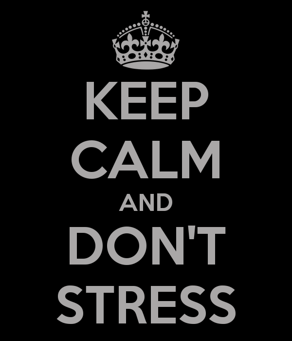 tableau keep calm and don't stress-967
