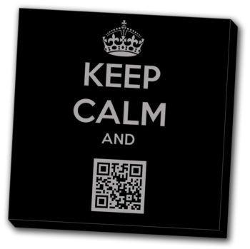 tableau keep calm QR-Code