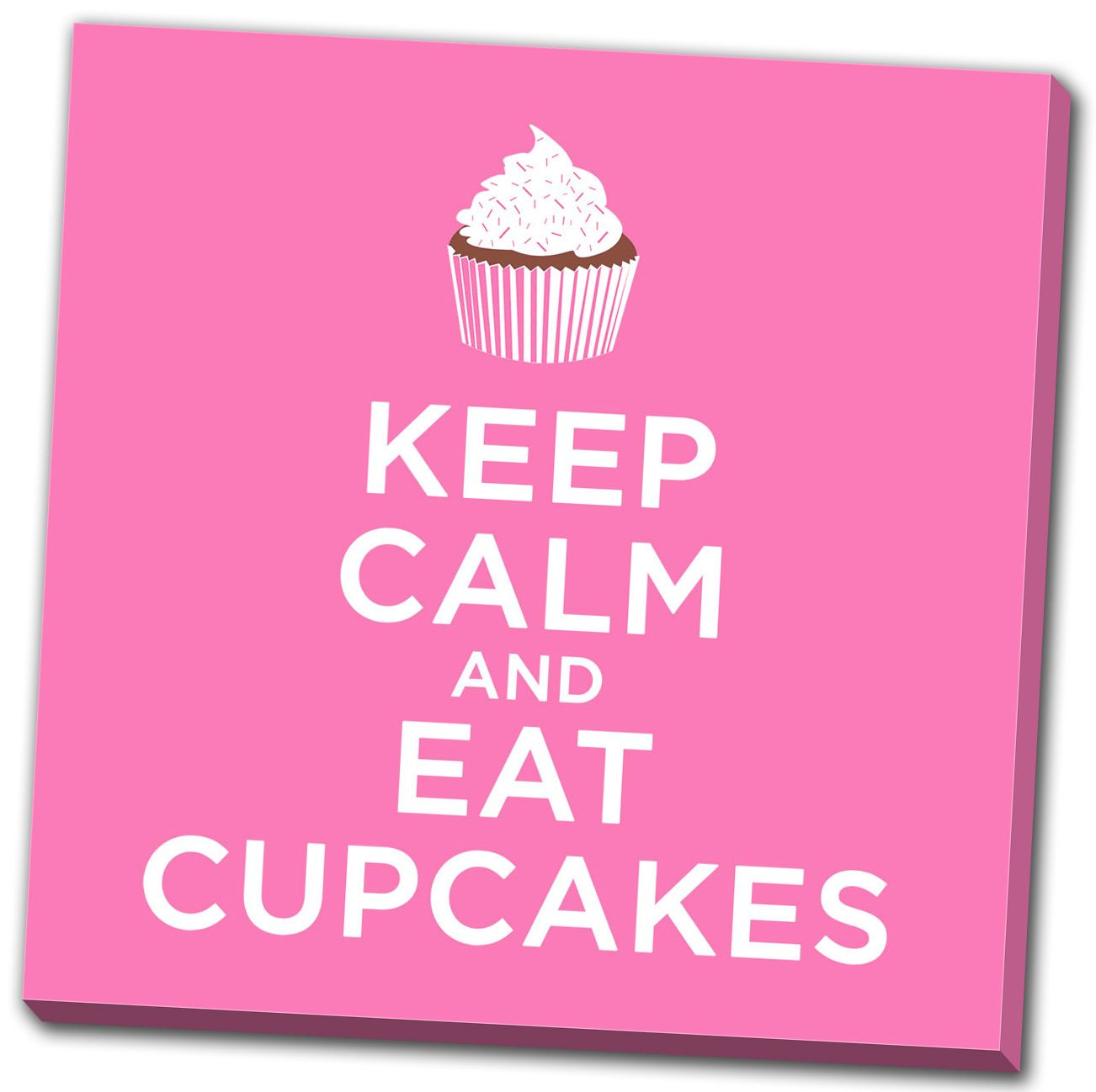 tableau keep calm and eat cupcakes