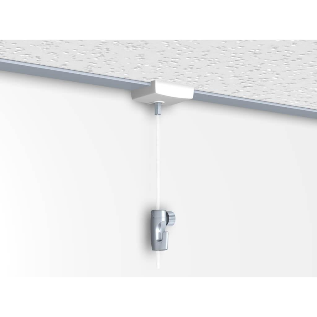 Attache Tableau Sans Percer cimaise pour faux plafond