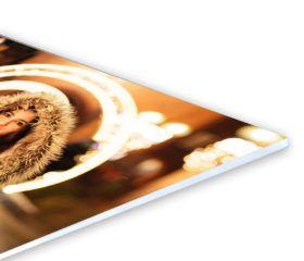 Un /él/ément 2695 D/écoration Impression sur Toile encadr/ée Pret a accrocher Tableaux pour la Mur 45x80cm Image sur Toile prete a Suspendre PA45x80-2695 Motif Moderne